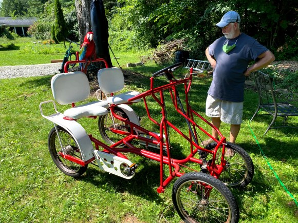 Surrey Bike with Charlie Bird