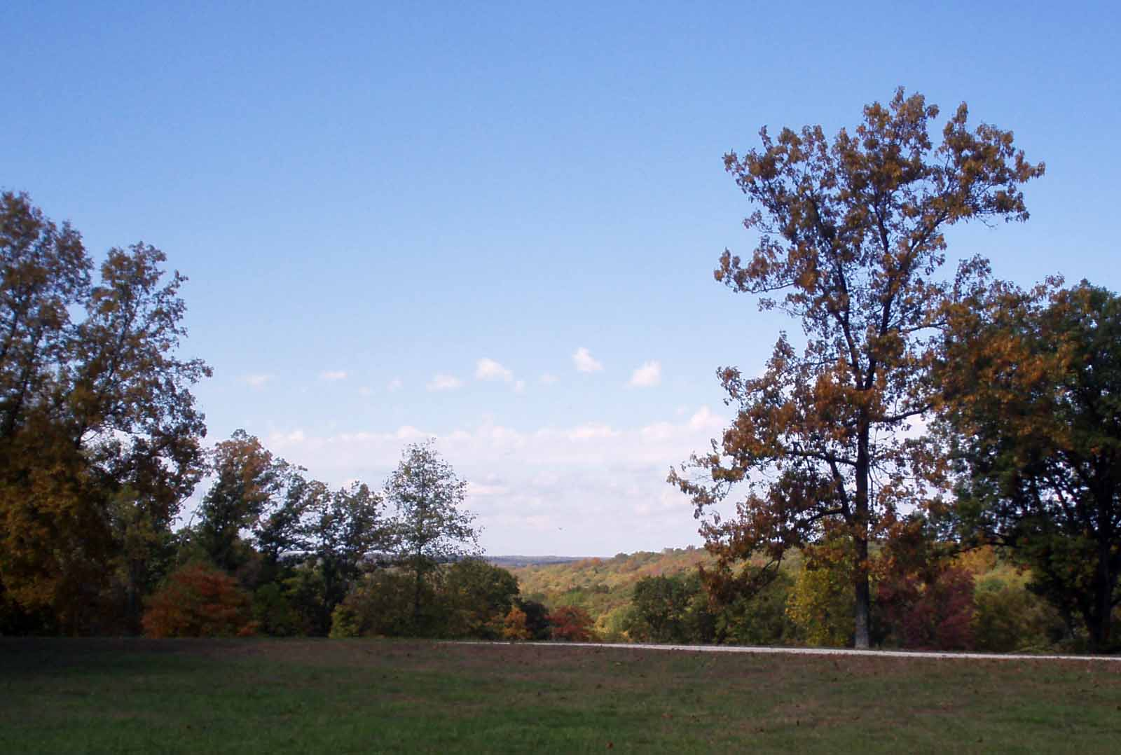 View from Gilmore Ridge